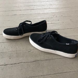 Keds Black Sneakers, size 9